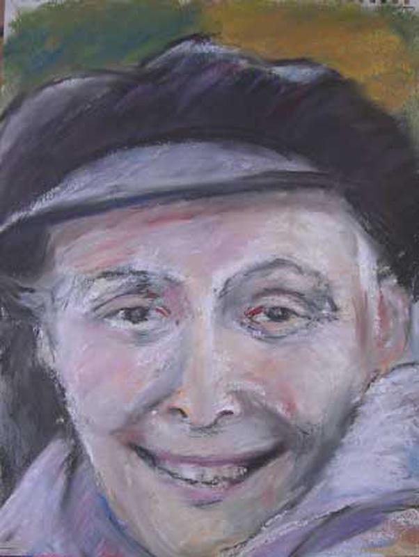 Pastel on paper, 40 x 30 cm