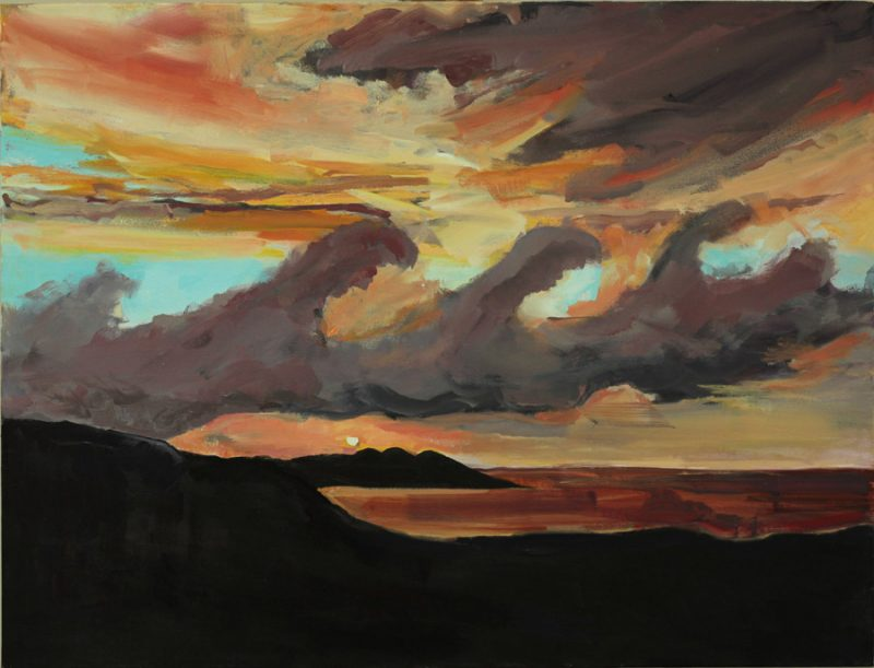 Oil on Canvas, 90 x 121 cm.