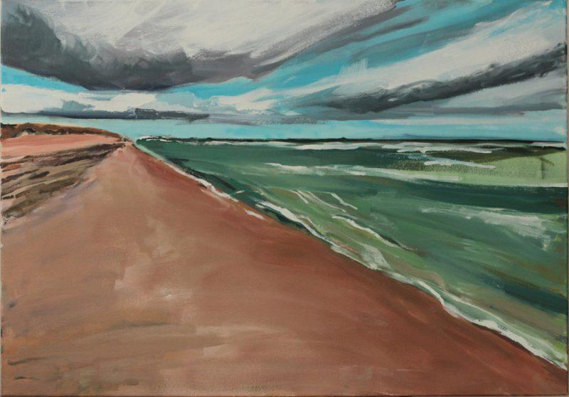 Oil on Canvas, 76 x 106 cm