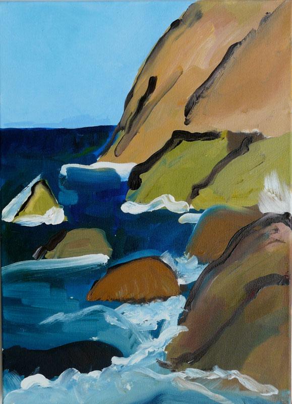 Oil on Canvas, 56 x 41 cm