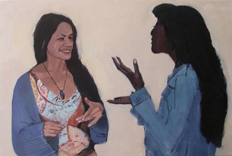 Oil on canvas, 61 x 92 cm
