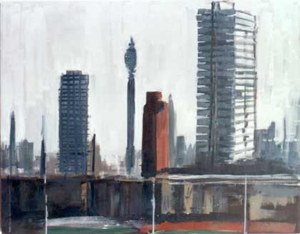 Oil on Canvas, 132 x 268 cm