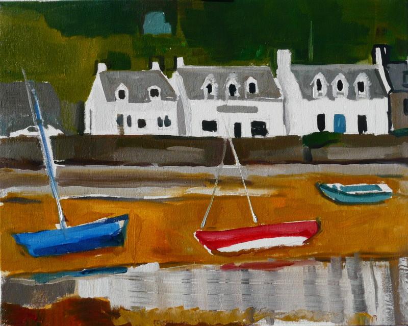 Oil on Canvas, 61 x 78 cms