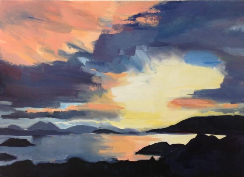 Oil on Canvas, 66 x 92 cms