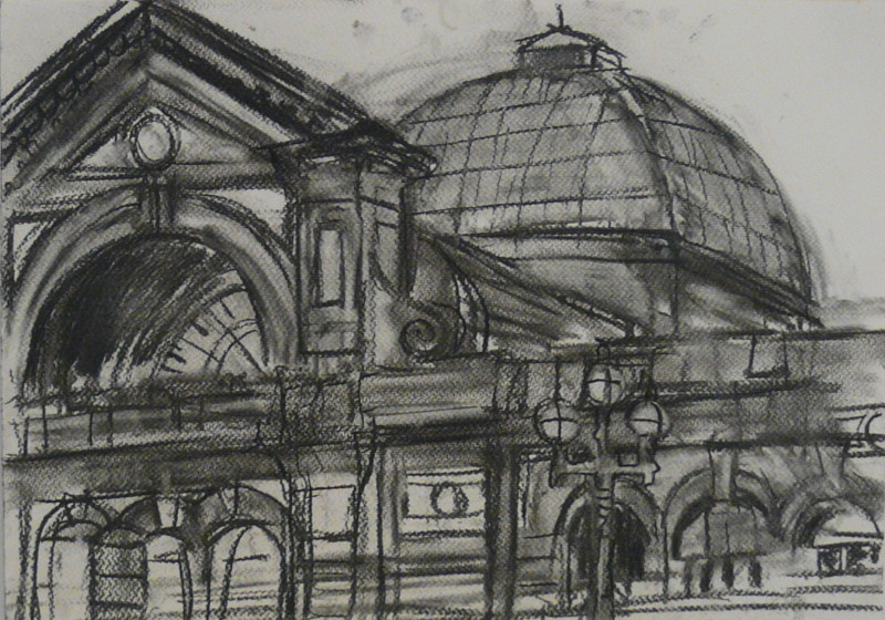 Charcoal on Paper, unframed