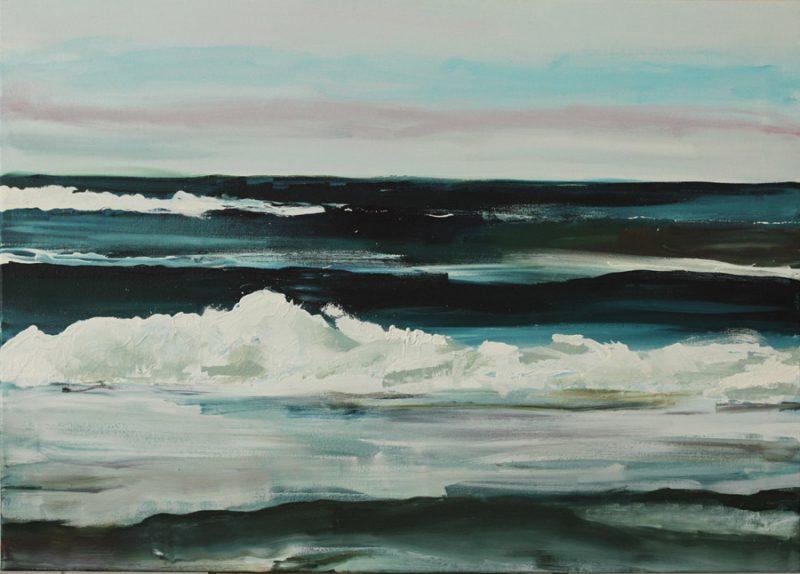 Oil on Canvas, 76 x 106 cm.